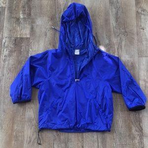 Nike cropped windbreaker/rain jacket